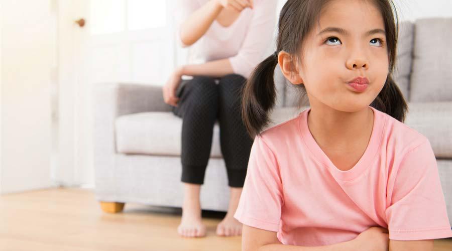 پرخاشگری با فرزند